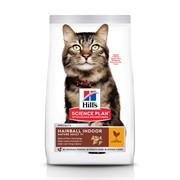 Hills Science Plan Feline Senior Нairball Control - Хиллс для пожилых кошек Вывод шерсти