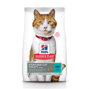 Hills SP Feline Adult Sterilised Cat Tuna Хиллc корм для стерилизованных кошек до 6 лет Тунец