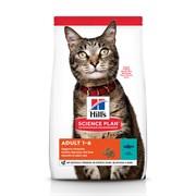 Hills SP Feline Adult Optimal Care с Тунцом - Хиллс сухой корм для кошек с Тунцом