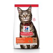 Hills SP Feline Adult Optimal Care с Ягненком- Хиллс Эдалт корм для кошек (с ягненком)