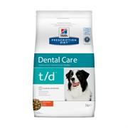 Hills PD Canine T/D- Хиллс TD сухой корм для собак мелких пороод лечение заболеваний полости рта