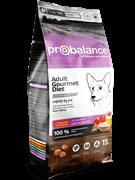 ProBalance Gourmet diet Adult Корм сухой для взрослых собак с говядиной и ягненком, 15 кг