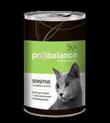 Probalance Sensitive Корм д/кош. с чувствительным пищеварением, 415 гр