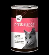 ProBalance Active Корм для активных кошек, 415 гр