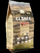 Glance, корм сухой для взрослых собак всех пород с говядиной и овощами, 20 кг