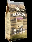 Glance, корм сухой для взрослых собак с чувствительным пищеварением, с ягнёнком и рисом, 20 кг