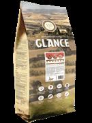 Glance, корм сухой для взрослых кошек с говядиной, 20 кг