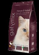 Dibaq Gatymix HAIRCARE&HAIRBALL (Сухой корм для красивой кожи и шерсти, выведение шерстяных комочков)