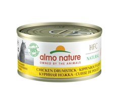 Almo-Nature Консервы для Кошек Аппетитные Куриные бедрышки 75% мяса