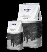 Сухой корм ТМ «SIRIUS» для взрослых собак Индейка с овощами
