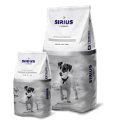 Сухой корм ТМ «SIRIUS» для взрослых собак Малые породы индейка с овощами