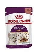 ROYAL CANIN Sensory вкус пауч для кошек в соусе