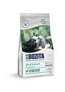 Bozita для кошек с чувствительным пищеварением, избыточным весом и для кошек старше 7 лет, беззерновой с мясом лося 10 кг