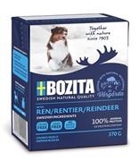 Bozita naturals кусочки в желе для собак, с олениной