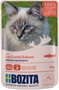 Bozita кусочки в желе для кошек, с лососем