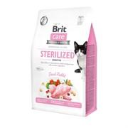 Brit Care гипоаллергенный, со свежим мясом кролика для взрослых стерилизованных кошек с чувствительным пищеварением 7 кг