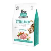 Brit Care Профилактика МКБ: гипоаллергенный, со свежим мясом курицы для стерилизованных кошек