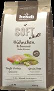 Bosch Soft с курицей и бананами для взрослых собак всех пород 12,5 кг