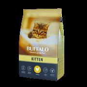 Сухой корм для котят Mr.Buffalo KITTEN, курица 10 кг