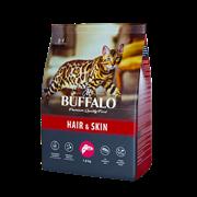 Сухой корм для кошек Mr.Buffalo ADULT HAIR & SKIN, лосось