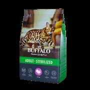 Сухой корм для кошек Mr.Buffalo STERILIZED, индейка