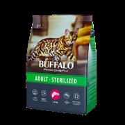 Сухой корм для кошек Mr.Buffalo STERILIZED, лосось