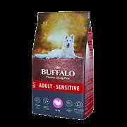 Сухой корм для собак средних и крупных пород Mr.Buffalo ADULT M/L SENSITIVE, индейка