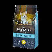 Сухой корм для щенков и юниоров Mr.Buffalo PUPPY & JUNIOR, курица 14 кг
