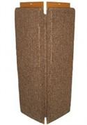 Зверьё моё В-2 Когтеточка ковровая с пропиткой угловая средняя
