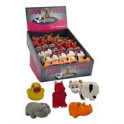 Игрушка для собак Американская ферма, 8-10см, латекс