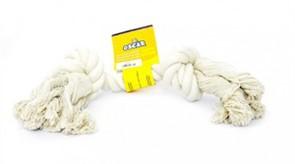 Игрушка для собак Белый канат 25 см