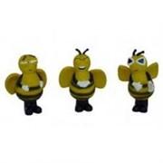 Игрушка для собак Пчелка, 14-16см, латекс (Bees) 140045