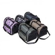 сумка-переноска с карманами Гламур, жаккард,39*29*25 см (9021)  (4 кармана,раскладная)