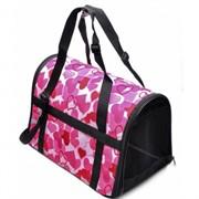 сумка-переноска с регулируемыми ручками Классика39*23*25см, нейлон (9017)