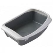 Туалет Евро для кошек глубокий с бортиком (2668)