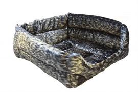 Мягкий лежак квадратный N 1, флок, 34*34*10см (9211)