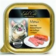 EDEL CAT Эдель Кэт кон.д/кошек паштет с Птицей 100г