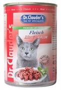 Доктор Клаудер  кон.д/кошек с Мясом 415г