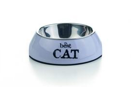 I.P.T.S. 650402 Best Cat Миска 2в1 д/кошек бордовая 160мл*14,5*4,5см