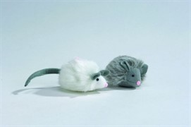 I.P.T.S. 440376 Игрушка д/кошек Мышь Foxy меховая, в ассорт. 7см