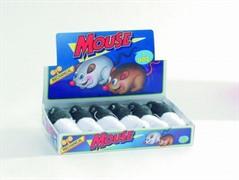 I.P.T.S. 440381 Набор игрушек д/кошек Мышь заводная, серая и белая 11см (шоубокс)