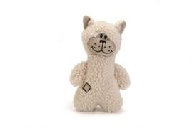 Beeztees 619734 Игрушка д/собак Медвежонок белый, текстиль 23см