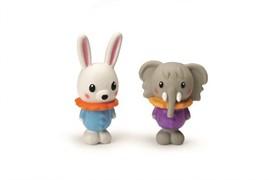 Beeztees 620430 Набор игрушек д/собак Слоники и Кролики латекс 10см (туба)