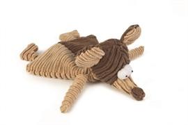 Beeztees 619717 Игрушка д/собак Мышь коричневая, текстиль 26см
