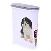 Контейнер для корма Собака на 1,5кг/4,5л , 25*10*30см
