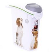 Контейнер для корма Собачьи новости на 10кг/23л, 23*50*50см