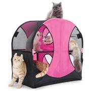 Игровой комплекс для кошек: Колесо обозрения. Wheel of Fun: 66*66*43см