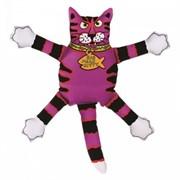 Игрушка Кот-забияка фиолетовый
