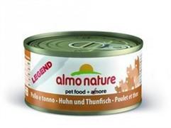 Almo-Nature Консервы для Кошек с Курицей и Тунцом 75% мяса (Legend Adult Cat Chicken&Tuna)