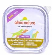 Almo-Nature Консервы для собак Меню с ягненком и картофелем  (Daily Menu Lamb with potatoes)